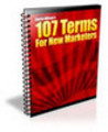 Thumbnail 107 Terms For New Marketer (A026)