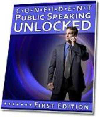 Product picture Confident Public Speaking Unlocked (A082)